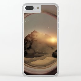 Full Circle Portal I Clear iPhone Case