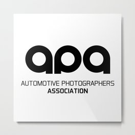 APA Logo Metal Print