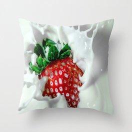 YUM YUM Throw Pillow