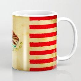 MEXICAN AMERICAN FLAG - 017 Coffee Mug