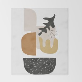 Abstract Shapes  2 Throw Blanket