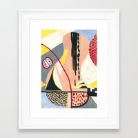 fruits Framed Art Prints featuring Fruits by Mariana's ART
