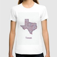 texas T-shirts featuring Texas by David Zydd