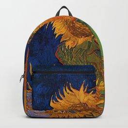 Vincent van Gogh - Six Sunflowers Backpack