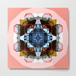 Abstract Artwork Design Metal Print