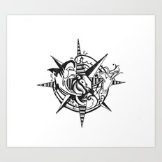 Tattoo 1 Art Print