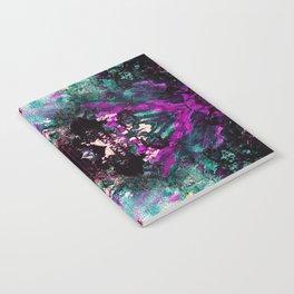 Textured Graffiti Print Notebook