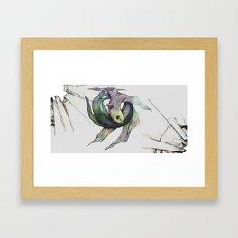 Self Enemy Framed Art Print