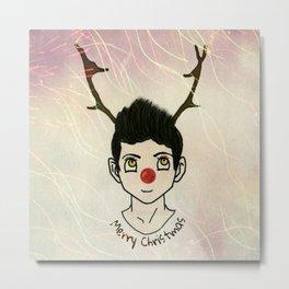 Reindeer Zayn Metal Print