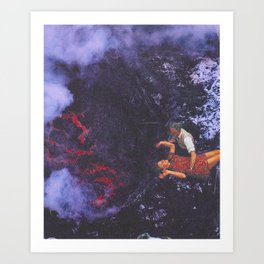 Baptism by Fire Art Print