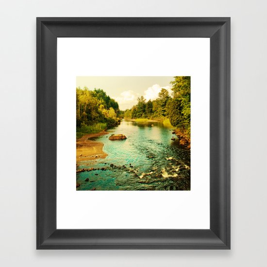 Peaceful Interlude Framed Art Print