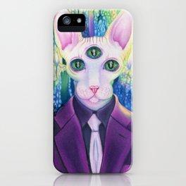 Kitty like light iPhone Case