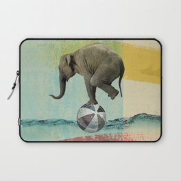 Elephant Balance Laptop Sleeve