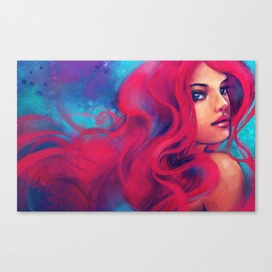 Daughter of Triton Canvas Print