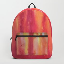 Watching the flames dance Backpack
