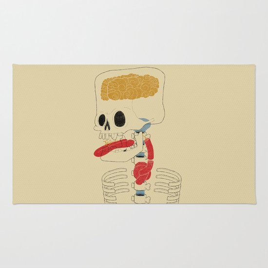 Square Skull...   Rug