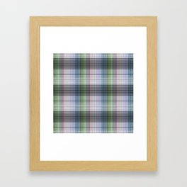 Pattern the cage 2 . Framed Art Print