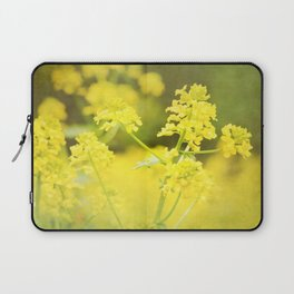 Floral Page Laptop Sleeve