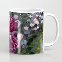 Peonies in the Park Coffee Mug