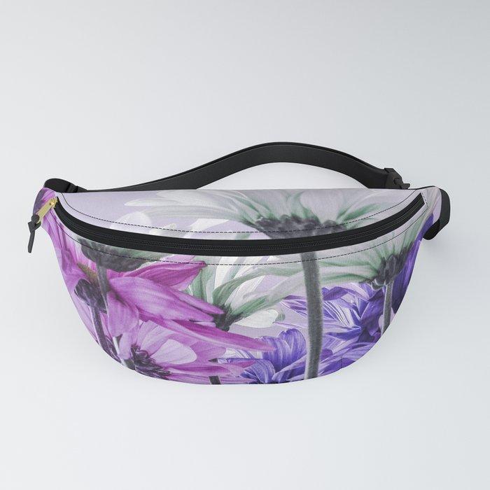 Purple Lavender Flowers Fanny Pack