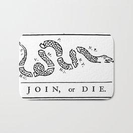 Join, or Die Bath Mat