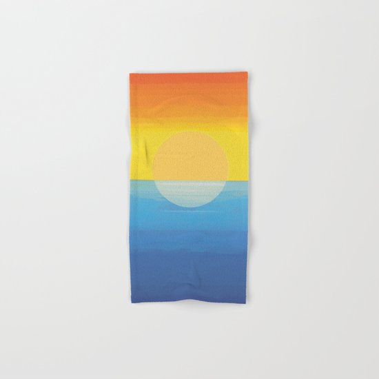 Sunset - Every Time We Say Goodbye Hand & Bath Towel