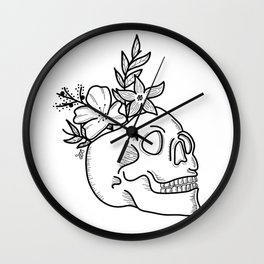 Blooming Ideas Wall Clock