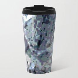 Smart Blue Kitten Travel Mug