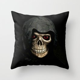 'DEATH' Throw Pillow