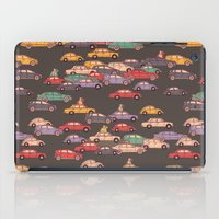mercedes iPad Cases featuring Never-ending traffic jam by smallDrawing