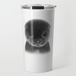 Cute Otter Travel Mug