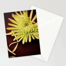 The Art of Letting Go ~ Chartreuse version Stationery Cards