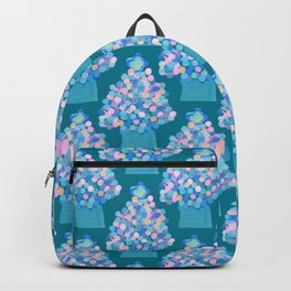 Blue Christmas Tree Backpack