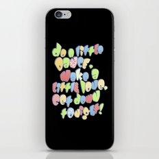 Do a little dance... iPhone & iPod Skin