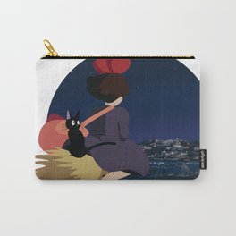 Witch at Night Carry-All Pouch