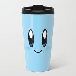 Kirby Face (Blue) Travel Mug