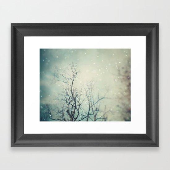 Winter Poem  Framed Art Print