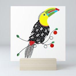 Bird of Costa Rica, toucan Mini Art Print