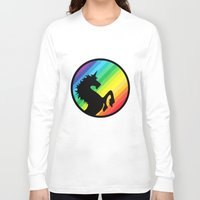 queer Long Sleeve T-shirts featuring Be Your Own Queer by Berberism Lifestyle