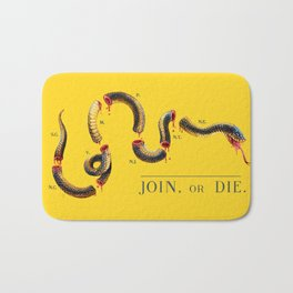 Join, or Die. Bath Mat