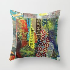 Layered 1 Throw Pillow