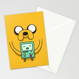 Jake and BMO Stationery Cards