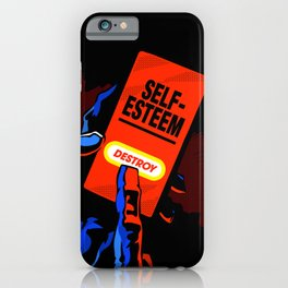 Comic Hands - Destroy iPhone Case