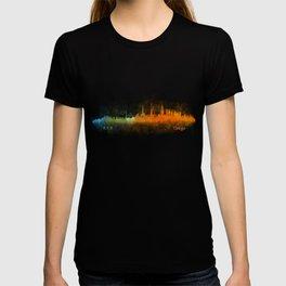 Tokyo City Skyline Hq V3 T-shirt