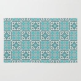 Moroccan Tile Geometric Mandala Rug