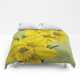 Daffodil Duet Comforters