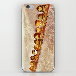 Lunch Atop City iPhone Skin