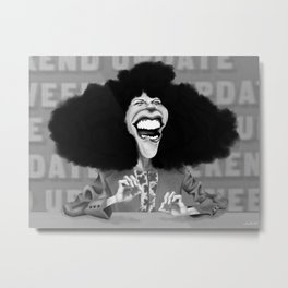 Roseanne Roseannadanna Metal Print