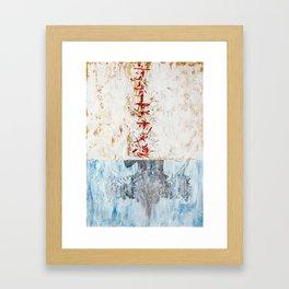Music landscape 170618B Framed Art Print
