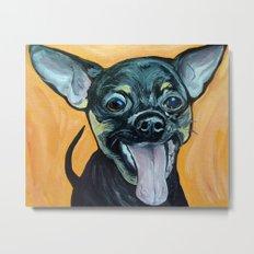 Chihuahua Art Metal Print